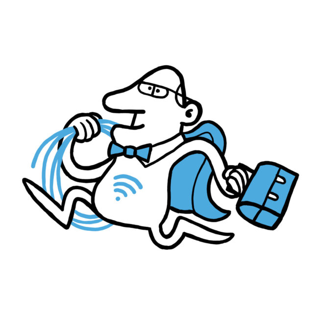 Besøg af WiFi-Manden